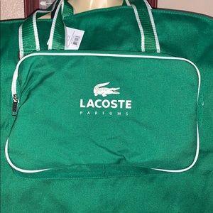 New Lacoste Parfums Garment Bag